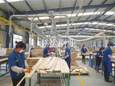 美福林板材加工厂