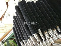 大型磨毛机毛刷辊的制作